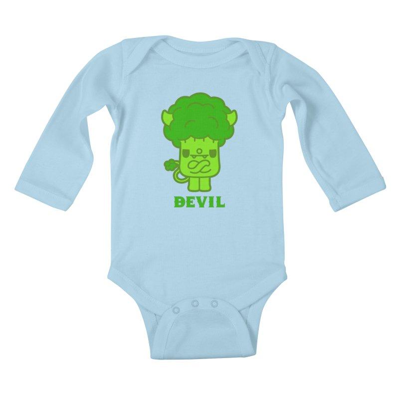 BEVIL Kids Baby Longsleeve Bodysuit by Paul Shih