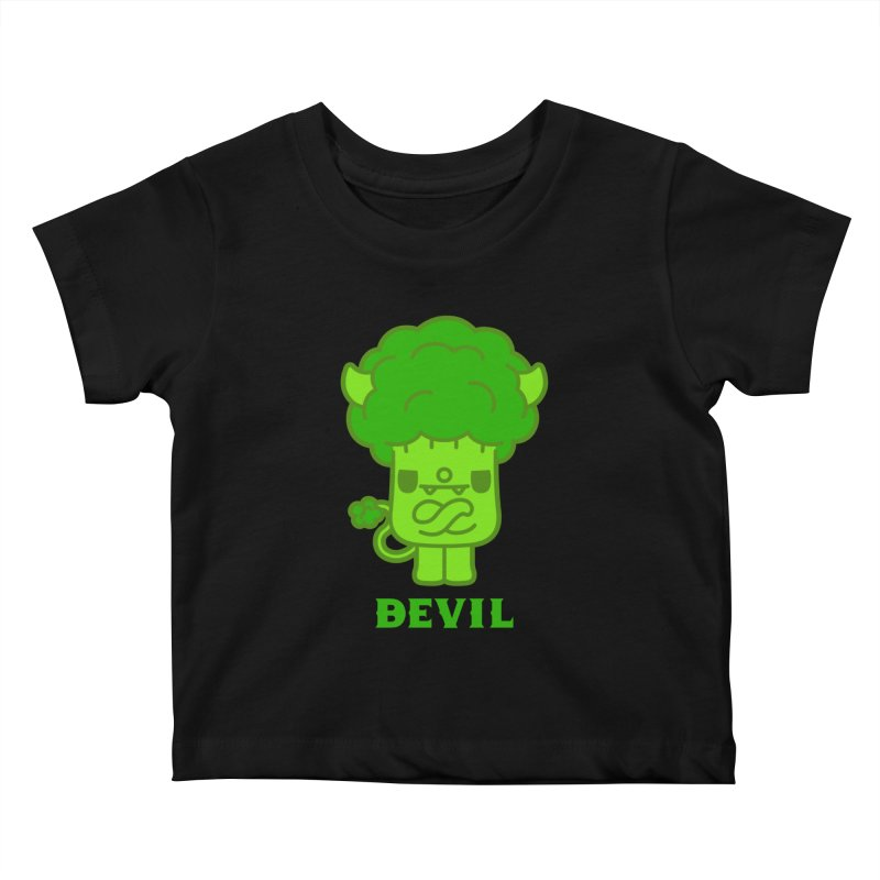 BEVIL Kids Baby T-Shirt by Paul Shih