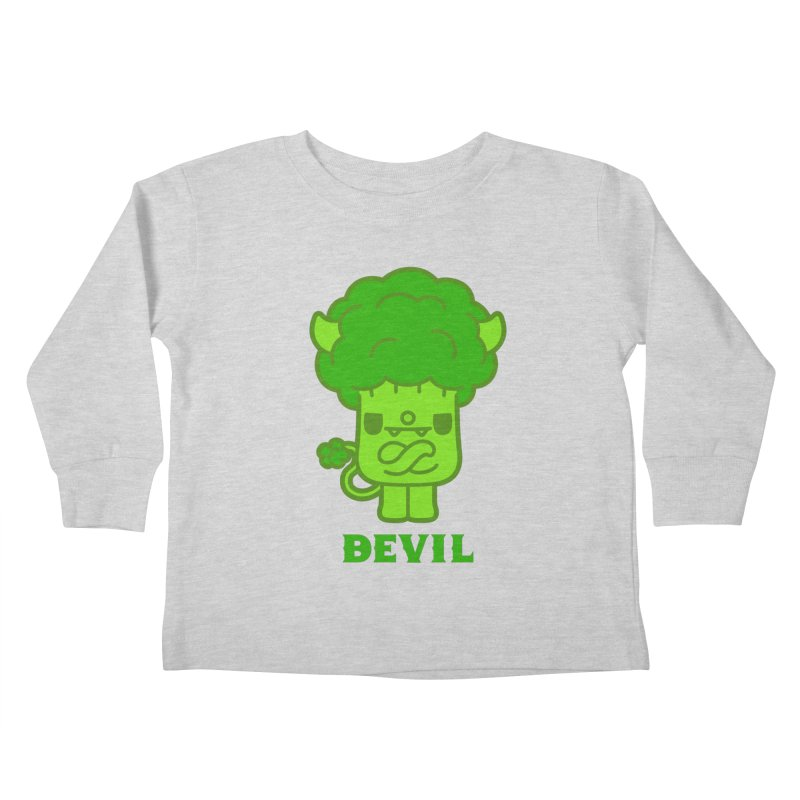 BEVIL Kids Toddler Longsleeve T-Shirt by Paul Shih