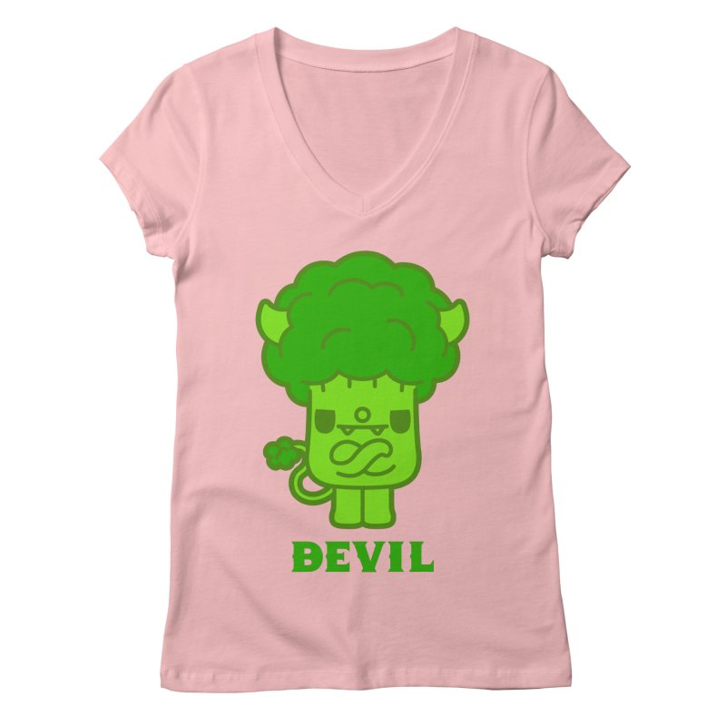 BEVIL Women's V-Neck by Paul Shih
