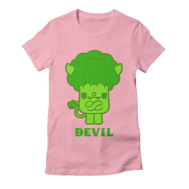 BEVIL Women's Fitted T-Shirt by Paul Shih