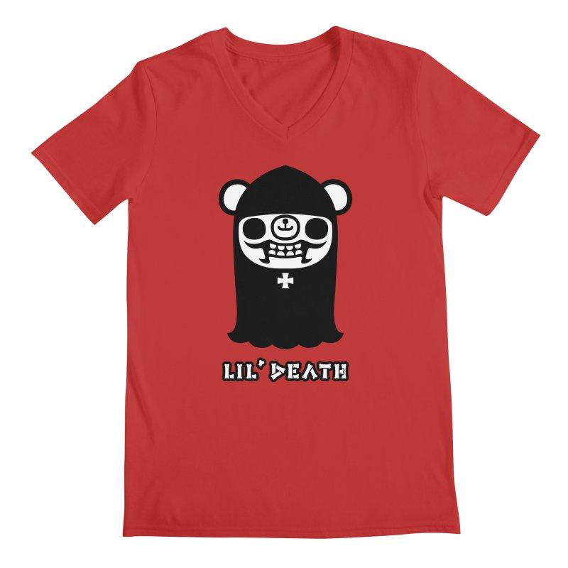 Lil' Death Men's V-Neck by Paul Shih