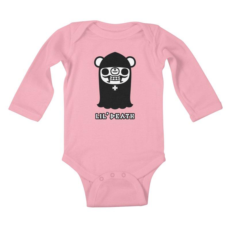 Lil' Death Kids Baby Longsleeve Bodysuit by Paul Shih