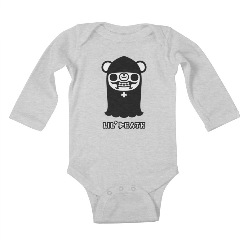 Lil' Death Kids Baby Longsleeve Bodysuit by Paul Shih
