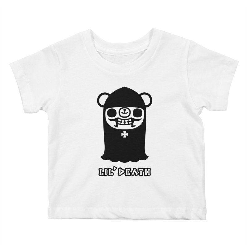 Lil' Death Kids Baby T-Shirt by Paul Shih