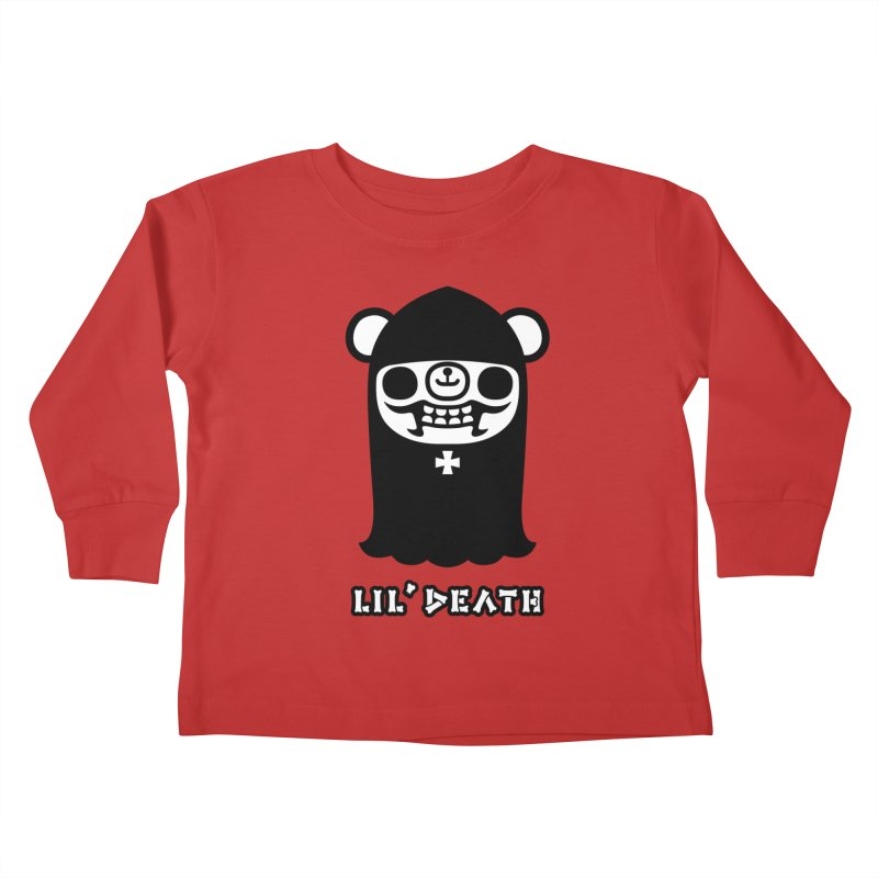 Lil' Death Kids Toddler Longsleeve T-Shirt by Paul Shih