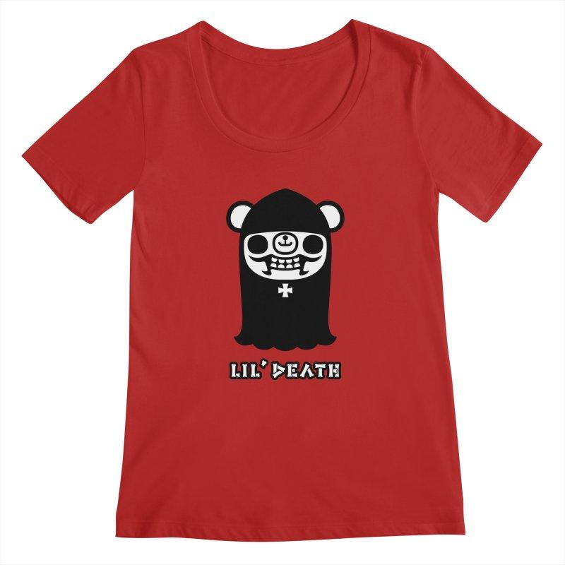 Lil' Death Women's Scoopneck by Paul Shih