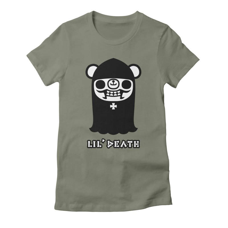Lil' Death Women's Fitted T-Shirt by Paul Shih