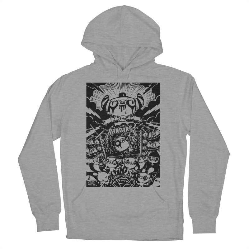 The World of Hollow Threat Men's Pullover Hoody by Paul Shih