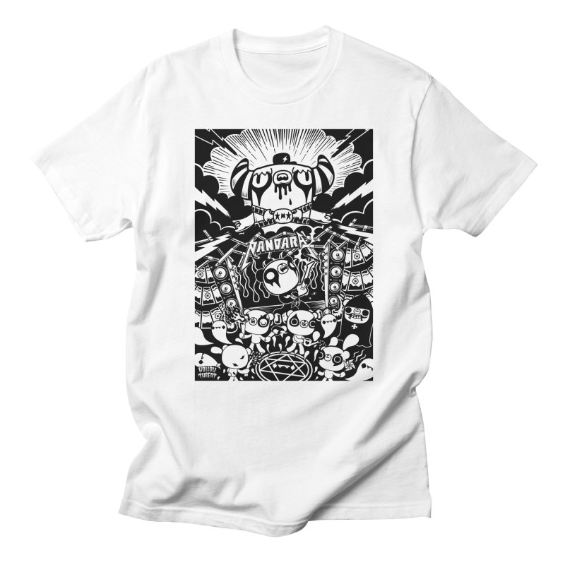 The World of Hollow Threat in Men's T-shirt White by Paul Shih
