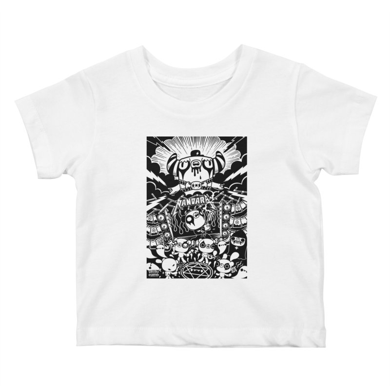 The World of Hollow Threat Kids Baby T-Shirt by Paul Shih