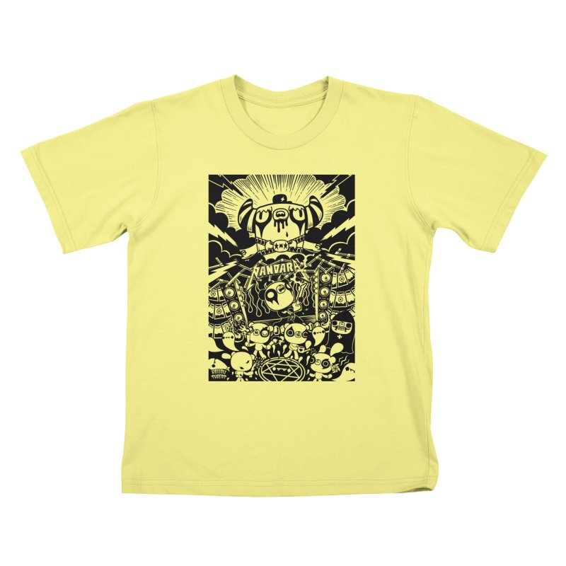 The World of Hollow Threat Kids T-shirt by Paul Shih