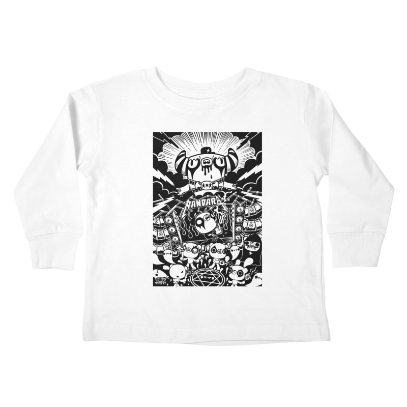 The World of Hollow Threat Kids Toddler Longsleeve T-Shirt by Paul Shih