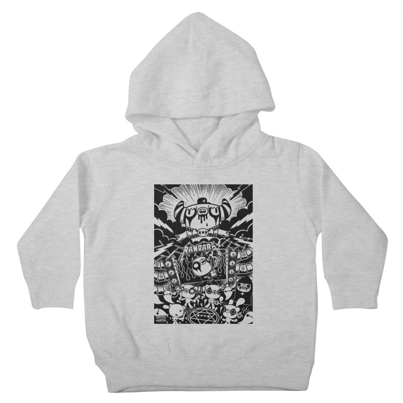 The World of Hollow Threat Kids Toddler Pullover Hoody by Paul Shih