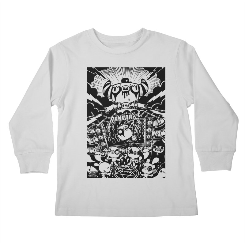 The World of Hollow Threat Kids Longsleeve T-Shirt by Paul Shih