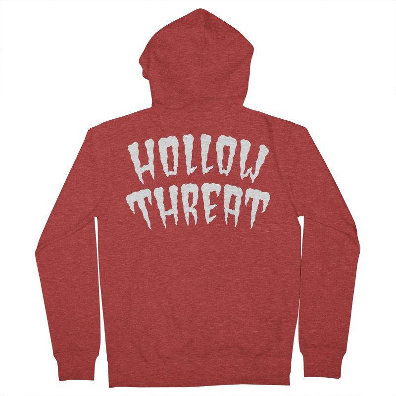 Hollow Threat Men's Zip-Up Hoody by Paul Shih
