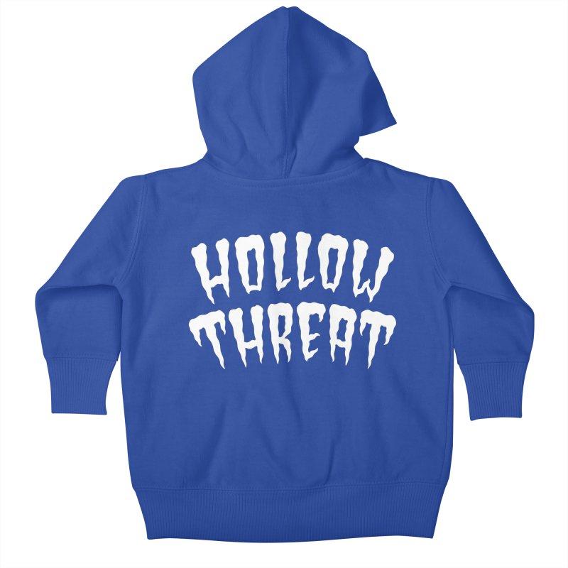 Hollow Threat Kids Baby Zip-Up Hoody by Paul Shih