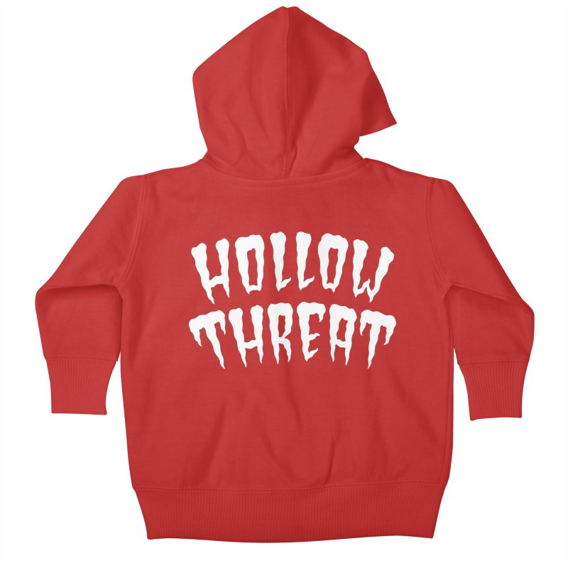 Hollow Threat Kids Baby Zip-Up Hoody by Paul Shih