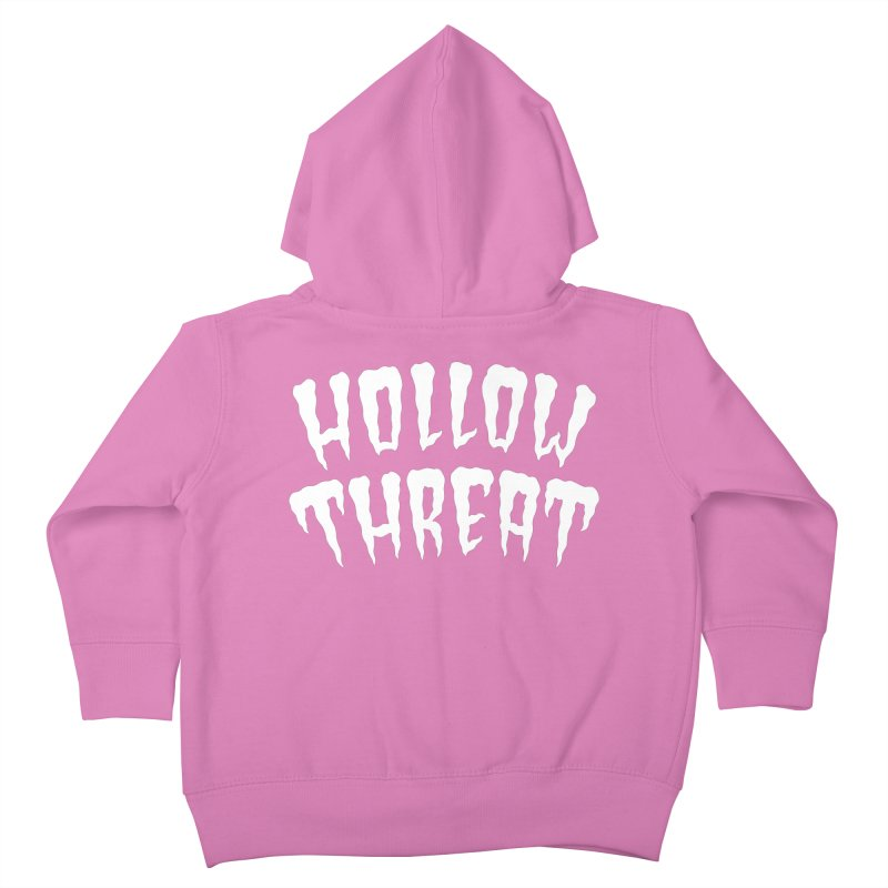 Hollow Threat Kids Toddler Zip-Up Hoody by Paul Shih