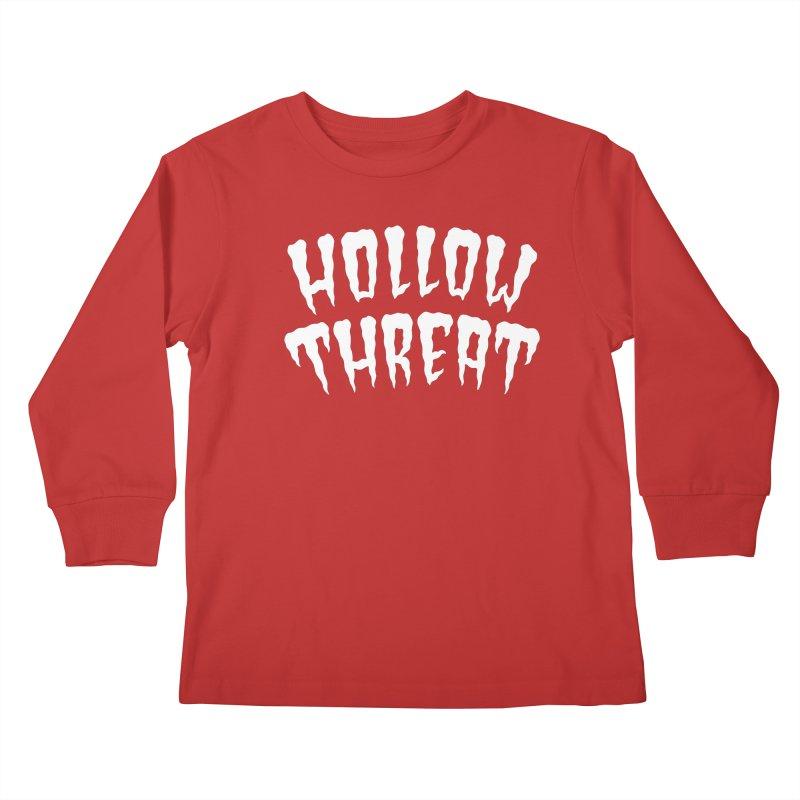 Hollow Threat Kids Longsleeve T-Shirt by Paul Shih