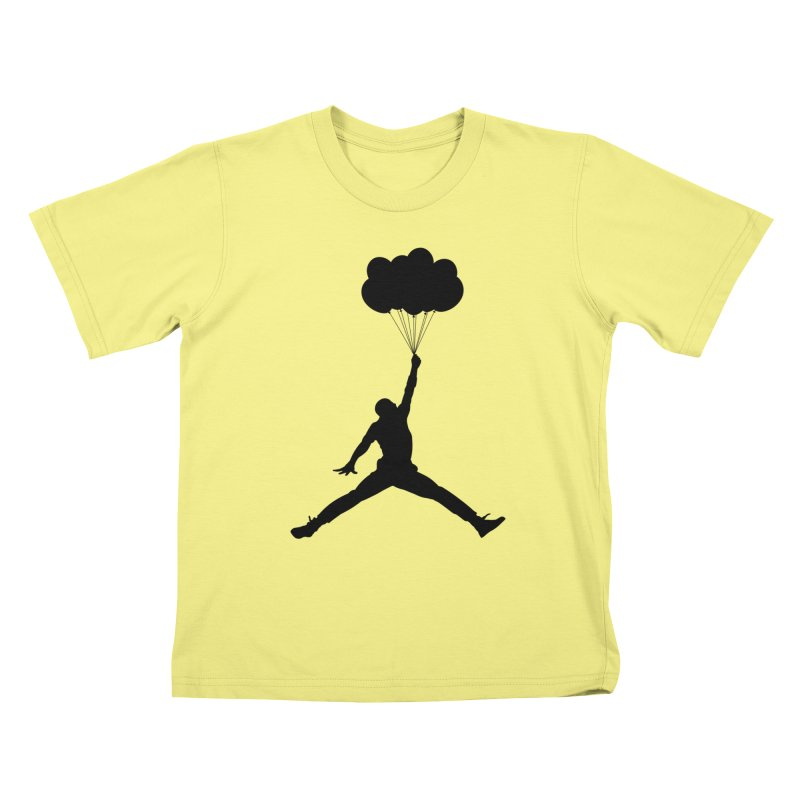 AIR MICHAEL Kids T-shirt by Paul Shih