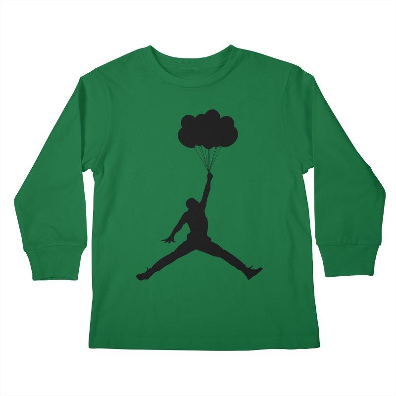 AIR MICHAEL Kids Longsleeve T-Shirt by Paul Shih