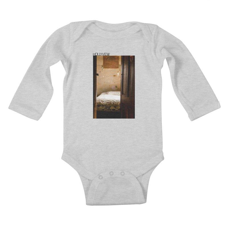 Empty Room Kids Baby Longsleeve Bodysuit by hollyview's Artist Shop