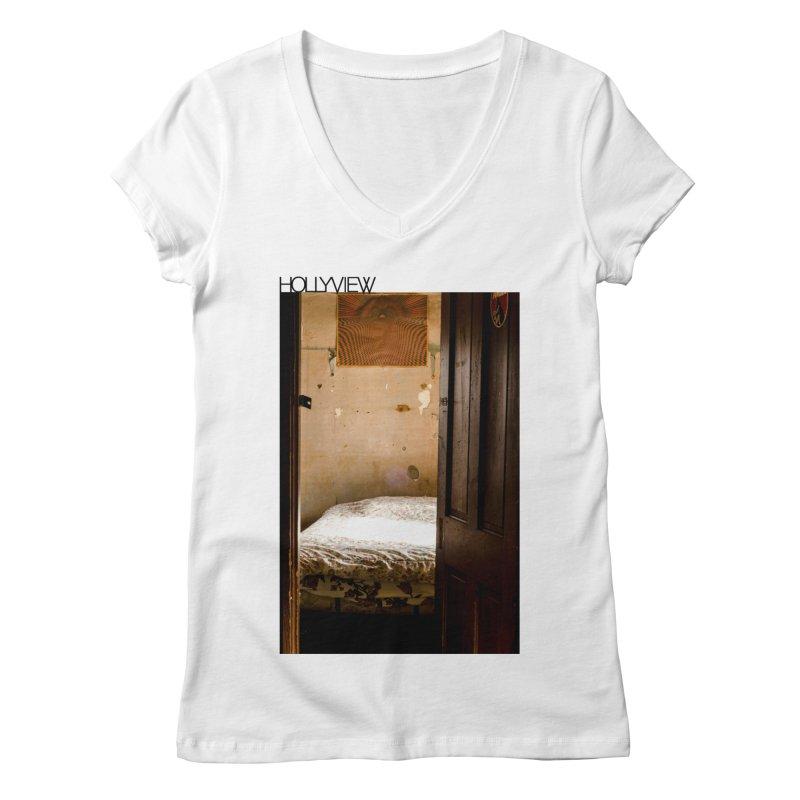 Empty Room Women's Regular V-Neck by hollyview's Artist Shop