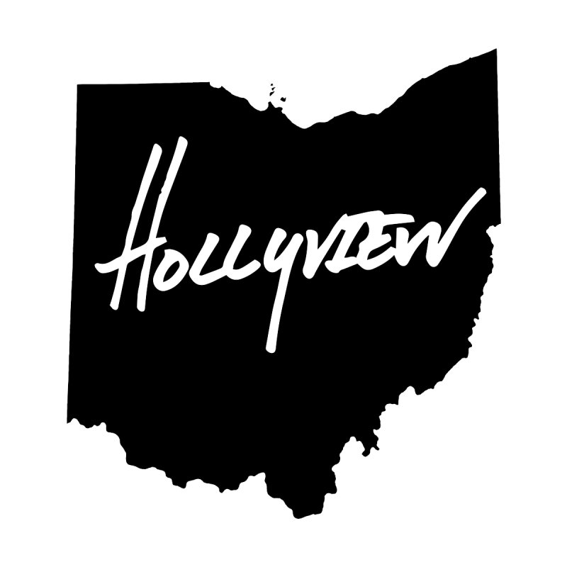 Hollyview Ohio - Black Ink by hollyview's Artist Shop