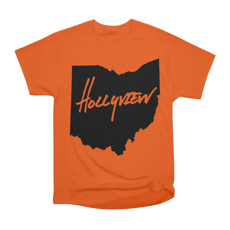 Hollyview Ohio - Black Ink Men's Classic T-Shirt by hollyview's Artist Shop