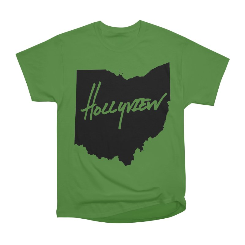 Hollyview Ohio - Black Ink Women's Classic Unisex T-Shirt by hollyview's Artist Shop