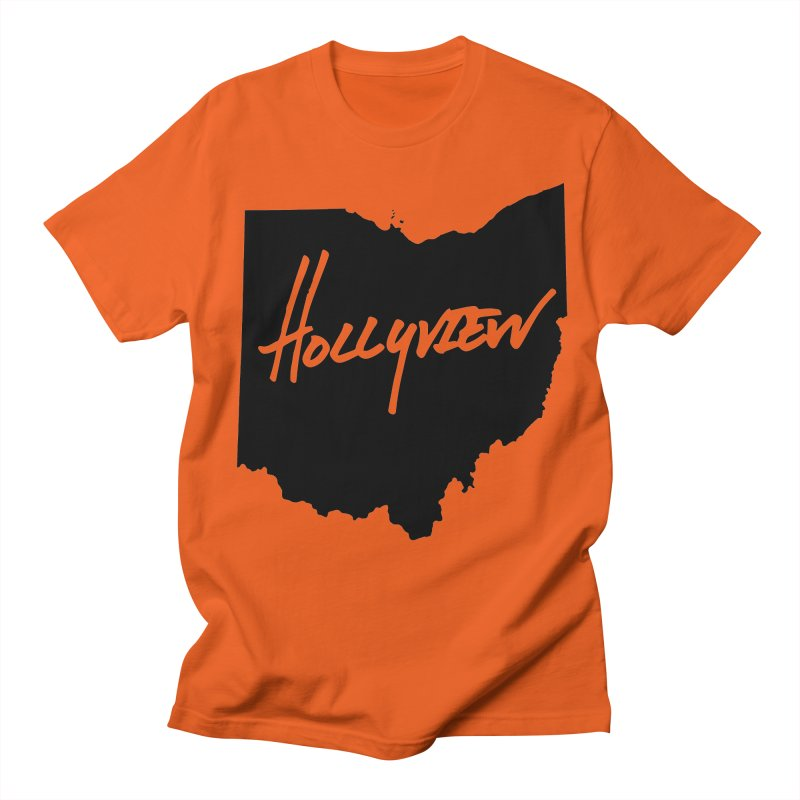 Hollyview Ohio - Black Ink Women's Unisex T-Shirt by hollyview's Artist Shop