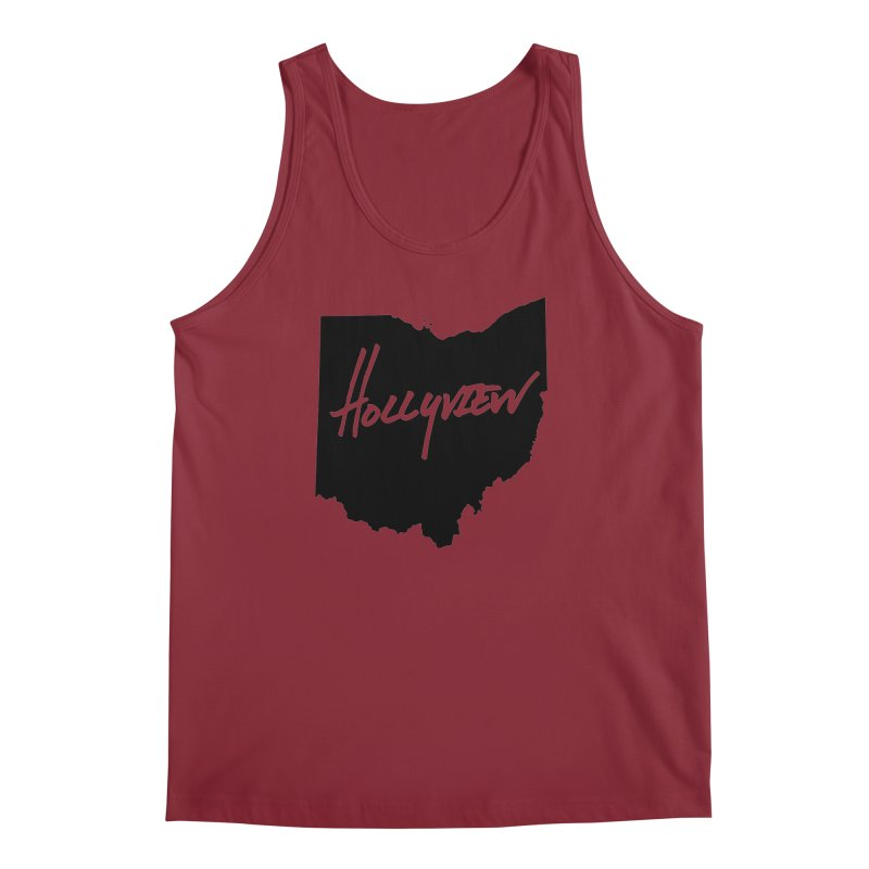 Hollyview Ohio - Black Ink Men's Regular Tank by hollyview's Artist Shop