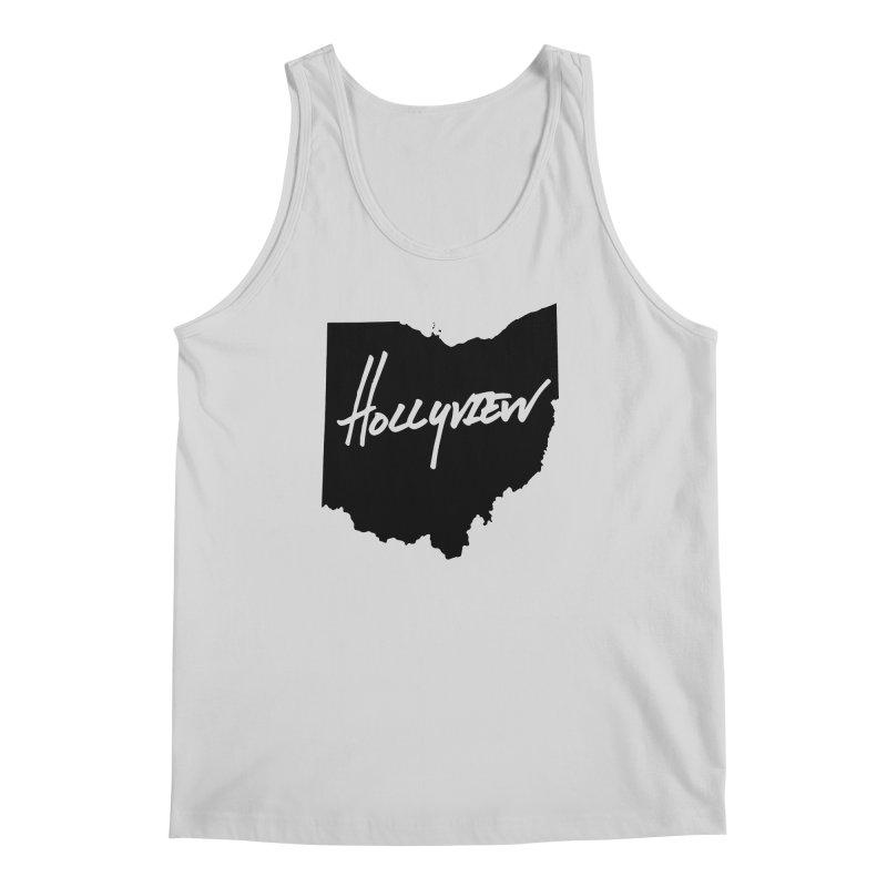 Hollyview Ohio - Black Ink Men's Regular Tank by hollyview's Artist Shop