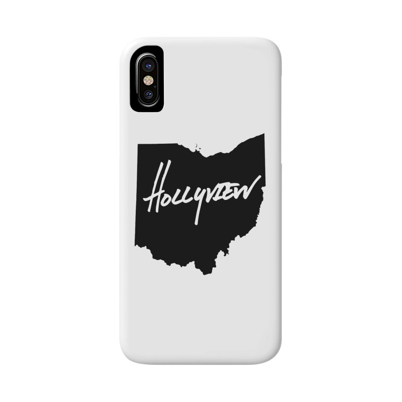 Hollyview Ohio - Black Ink Accessories Phone Case by hollyview's Artist Shop