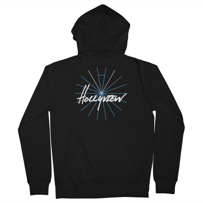Hollyview Star Men's Zip-Up Hoody by hollyview's Artist Shop