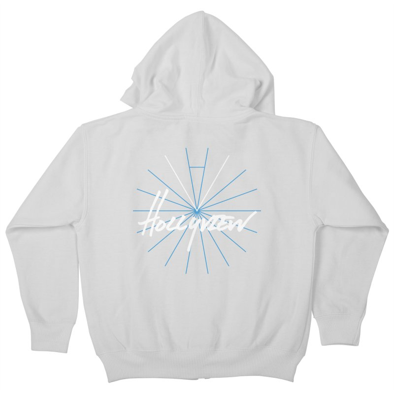 Hollyview Star Kids Zip-Up Hoody by hollyview's Artist Shop