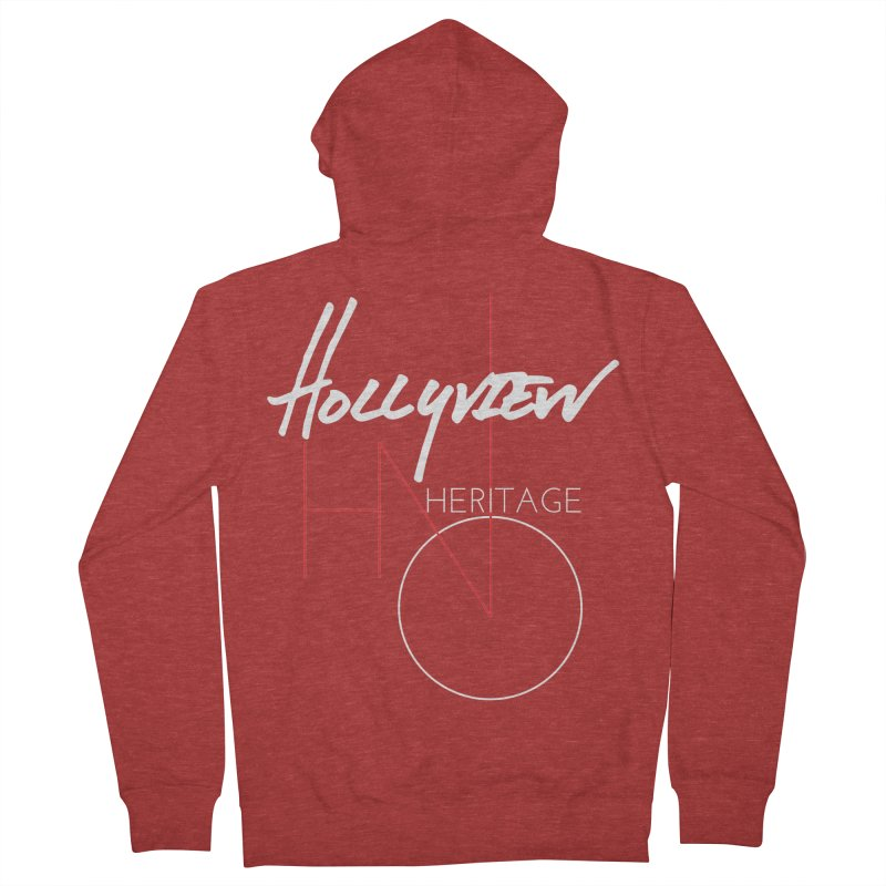 Hollyview Heritage Women's French Terry Zip-Up Hoody by hollyview's Artist Shop