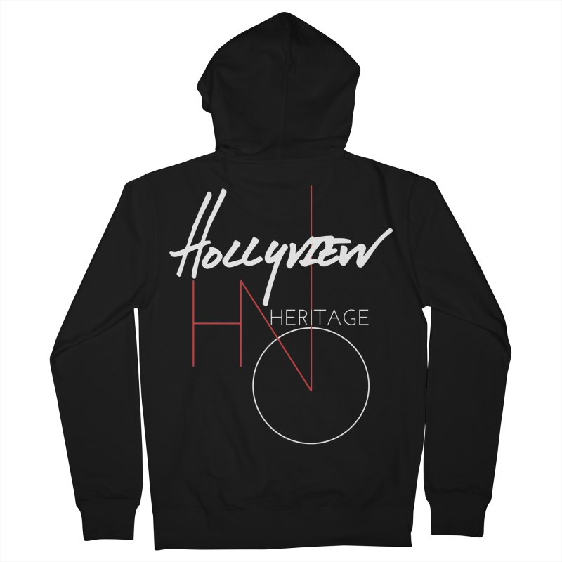 Hollyview Heritage Men's French Terry Zip-Up Hoody by hollyview's Artist Shop