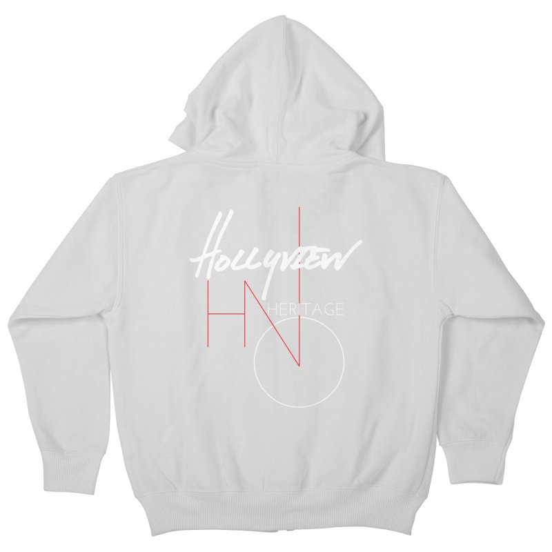 Hollyview Heritage Kids Zip-Up Hoody by hollyview's Artist Shop