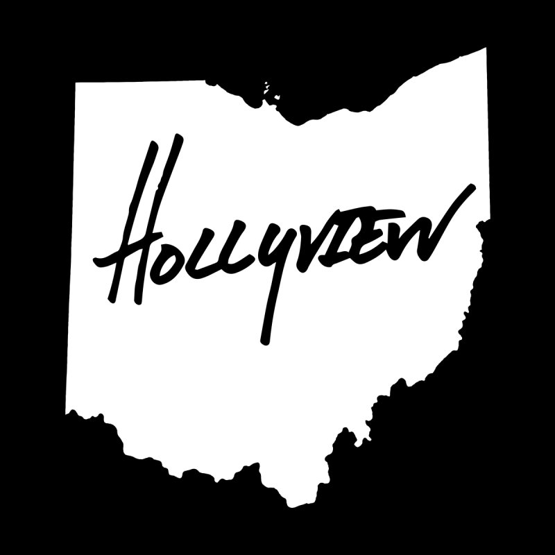 Hollyview Ohio - White Ink by hollyview's Artist Shop