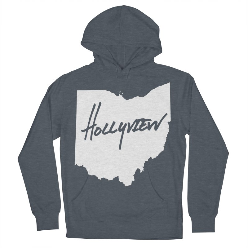 Hollyview Ohio - White Ink Women's Pullover Hoody by hollyview's Artist Shop
