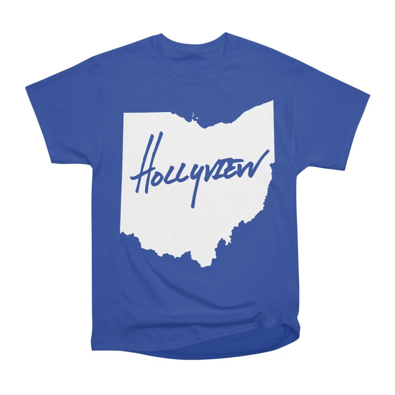 Hollyview Ohio - White Ink Women's Classic Unisex T-Shirt by hollyview's Artist Shop