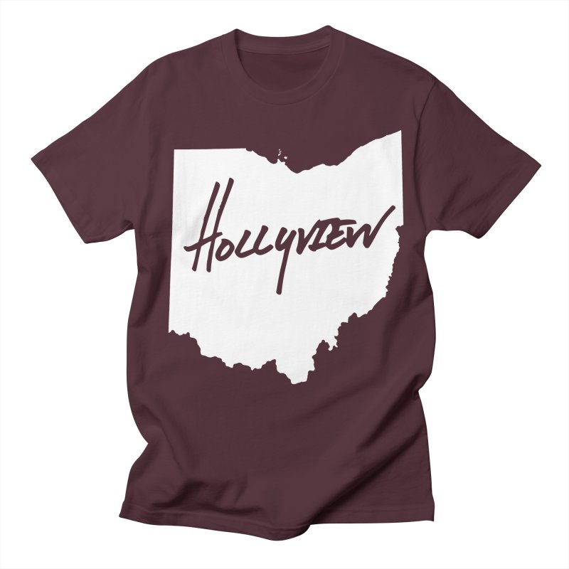 Hollyview Ohio - White Ink Women's Unisex T-Shirt by hollyview's Artist Shop