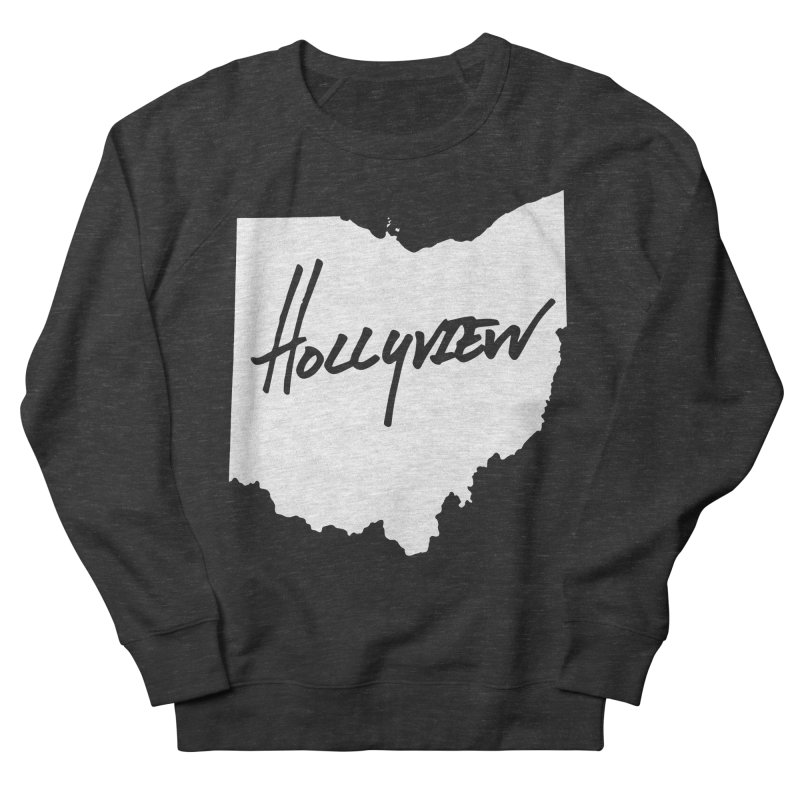 Hollyview Ohio - White Ink Women's Sweatshirt by hollyview's Artist Shop