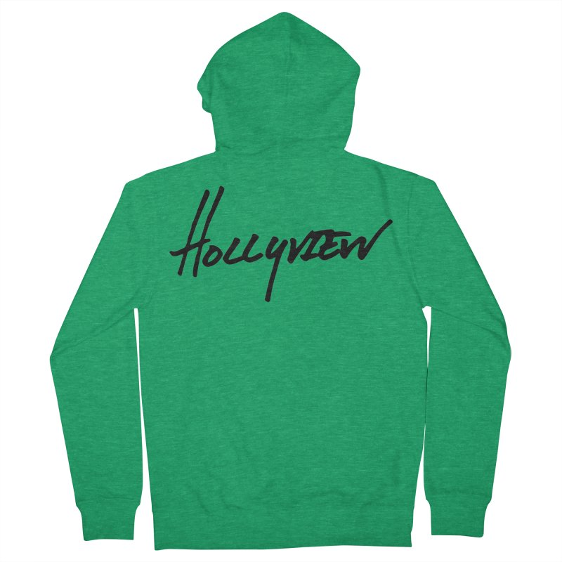 Hollyview Handwriting  Women's Zip-Up Hoody by hollyview's Artist Shop