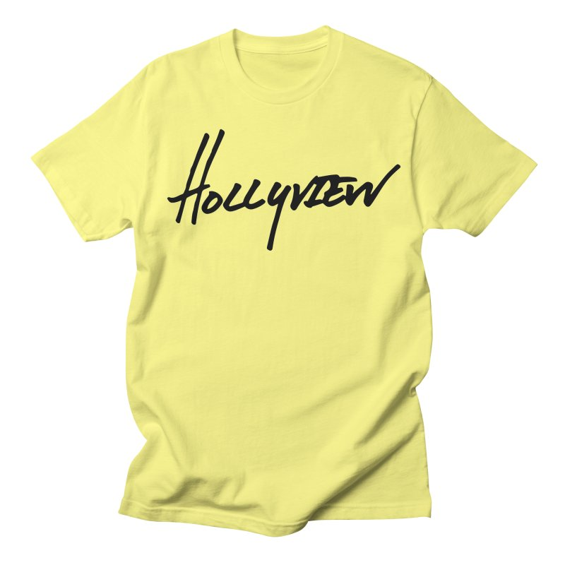 Hollyview Handwriting  Women's Unisex T-Shirt by hollyview's Artist Shop
