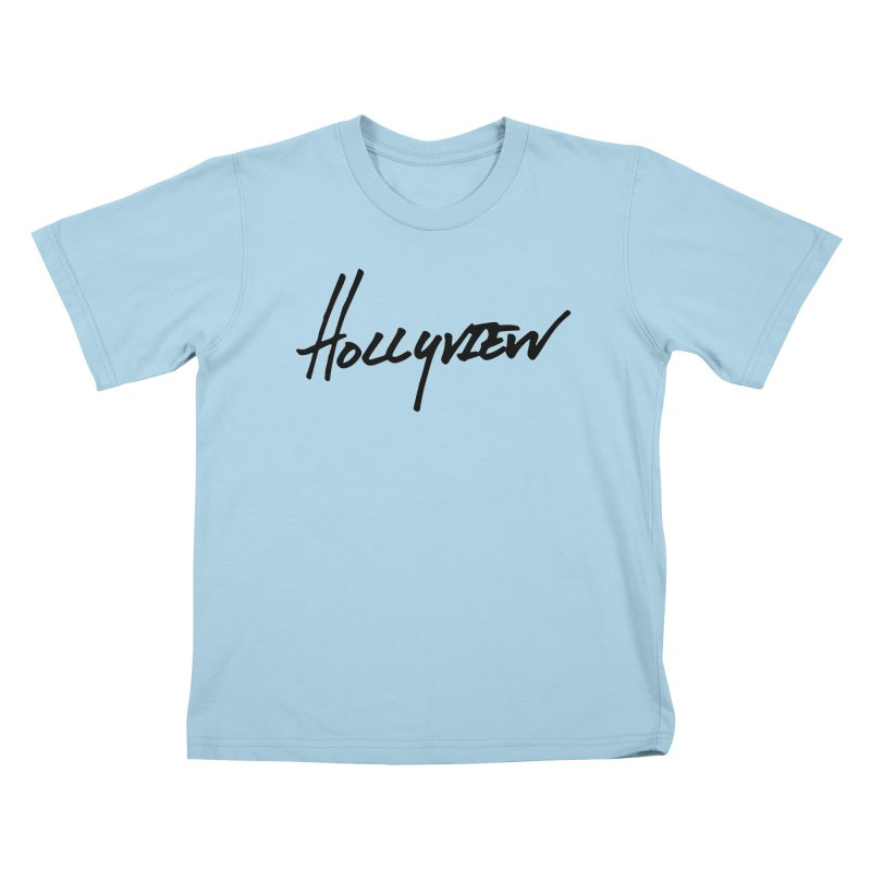 Hollyview Handwriting  Kids T-Shirt by hollyview's Artist Shop