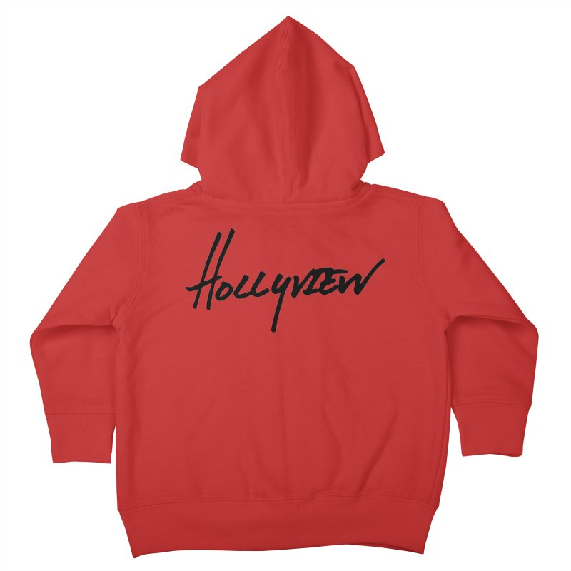 Hollyview Handwriting  Kids Toddler Zip-Up Hoody by hollyview's Artist Shop