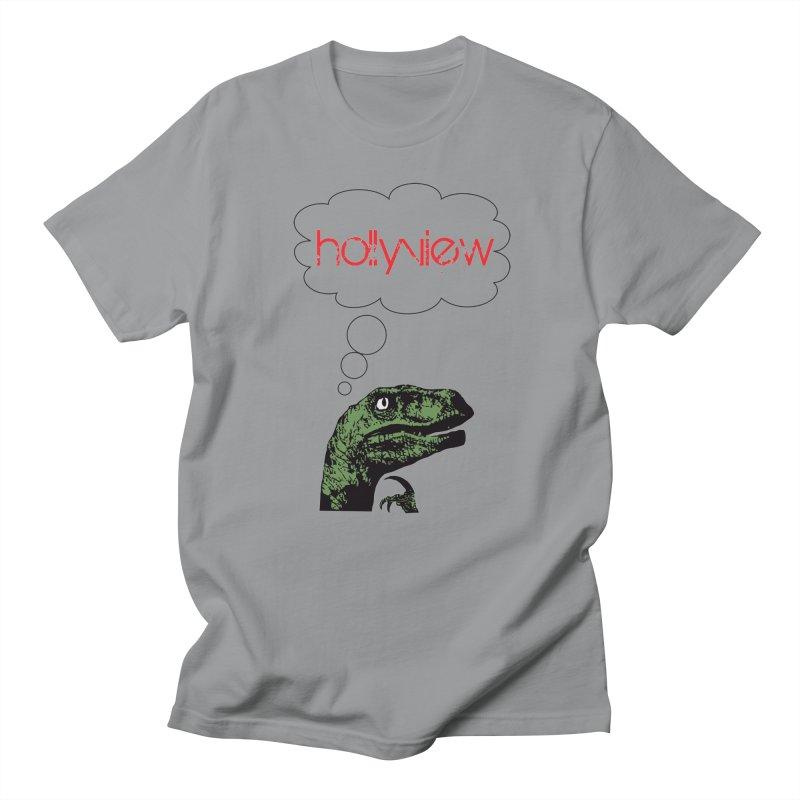 Clever Raptor Men's Regular T-Shirt by hollyview's Artist Shop